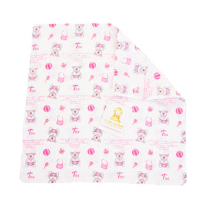 Organic Swaddle - Set Of 2 Organic Swaddle - Joy - Psalm 139