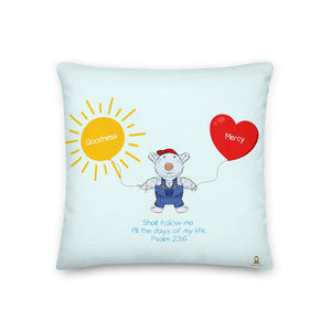 Pillow - Pillow - Goodness & Mercy - Joseph - Psalm 23:6