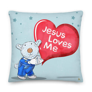 Pillow - Pillow - Jesus Loves Me - Joseph