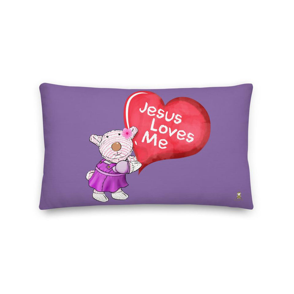 Pillow - Pillow - Jesus Loves Me - Joy