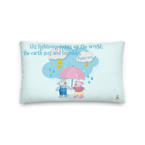Pillow - Pillow - Joy & Joseph Lightning - Psalm 97:4