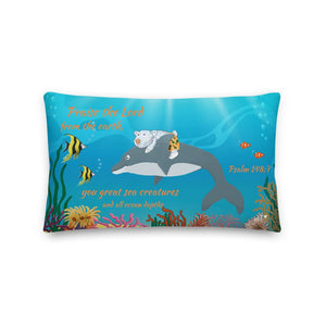 Pillow - Pillow - The Sea - Psalm 148:7