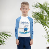 Rash Guard - Kids Rash Guard - Joseph - Psalm 23:2