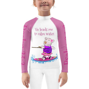 Rash Guard - Kids Rash Guard - Joy Wakeboard - Paslm 23:2