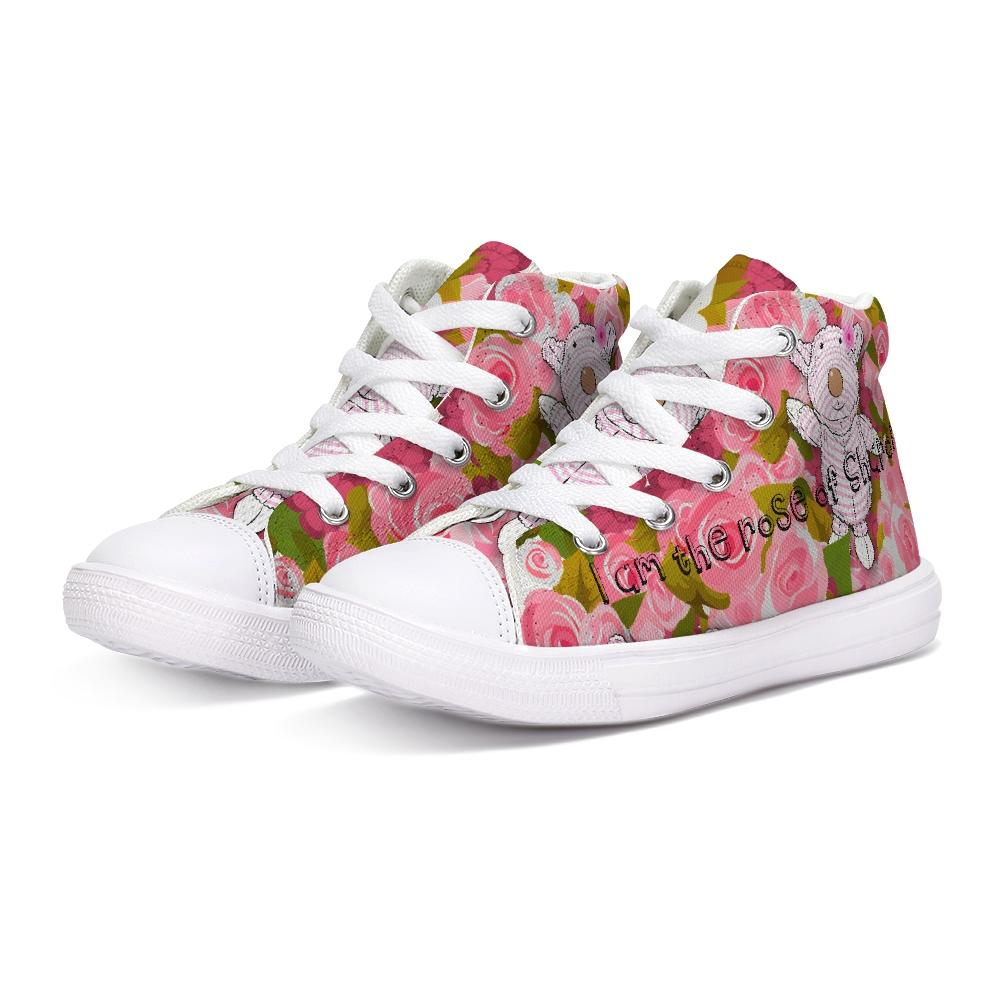 Shoes - Hightop Canvas Shoe - Joy Roses - Song Of Solomon 2:1