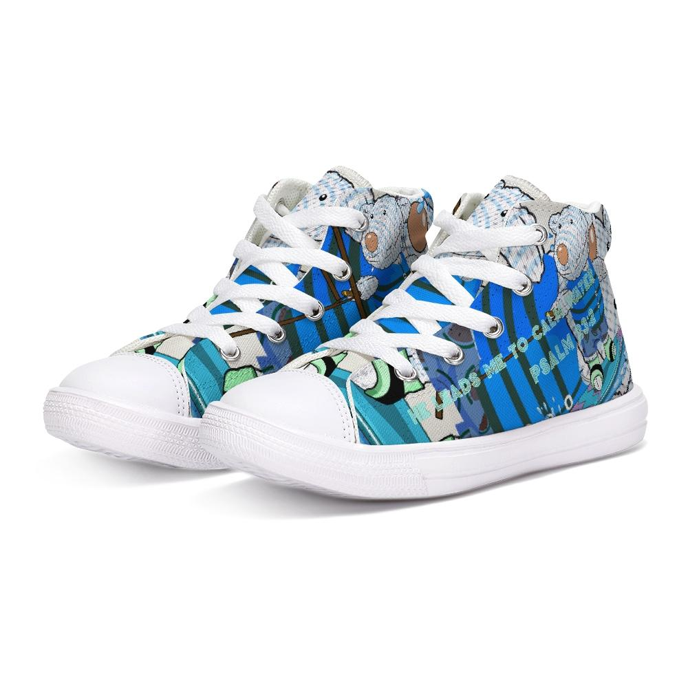 Shoes - Kids Hightop Shoe - Wakeboard Joseph - Psalm 23:2