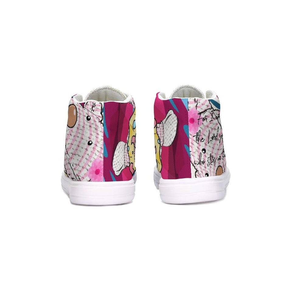 Shoes - Kids Hightop Shoes - Joy Surfer - Isaiah 51:15