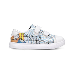Shoes - Kids Velcro Sneaker - Joseph Surfer - Isaiah 51:15