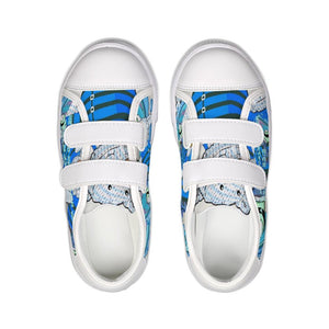 Shoes - Kids Velcro Sneaker - Wakeboard Joseph - Psalm 23:2
