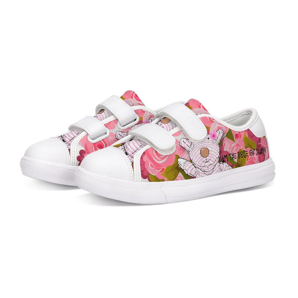 Shoes - Velcro Sneaker - Joy Roses - Song Of Solomon 2:1