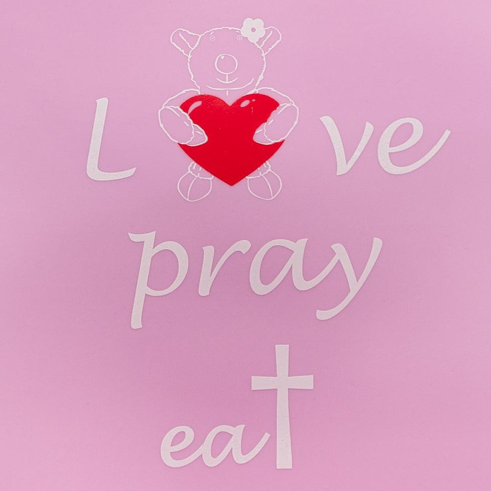 Silicone Bib - Silicone Bib - Joy -  Love, Pray & Eat - Lavender