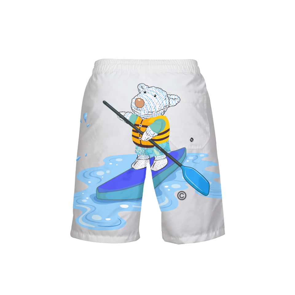 Swimming Shorts - Boy's Swim Trunk - Joseph Paddleboard - Isaiah 43:2