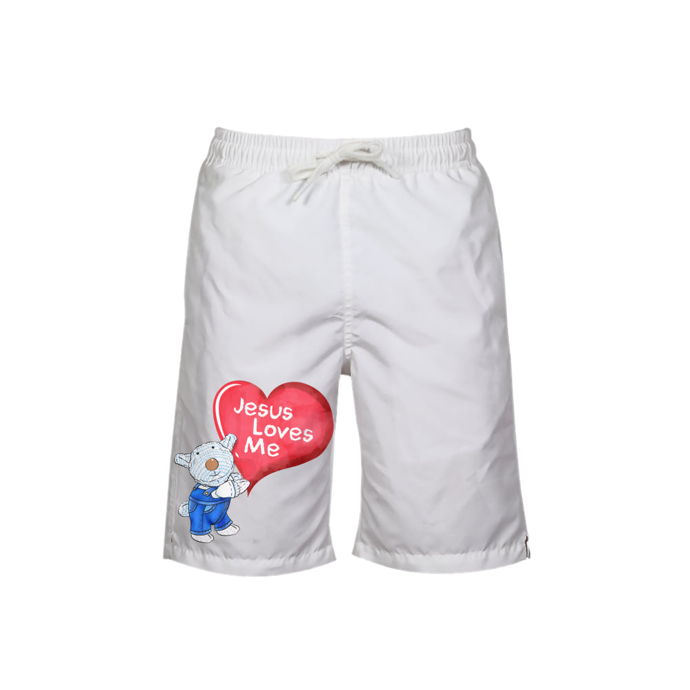 Swimming Wear - Boy's Swim Trunk - Jesus Loves Me - Joseph