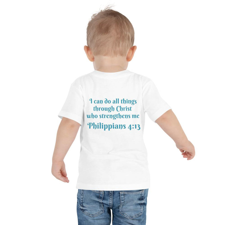 Toddler T-Shirt - Toddler T-Shirt - Joseph Dentist - Philippians 4:13