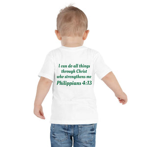 Toddler T-Shirt - Toddler T-Shirt - Joseph Fisher - Philippians 4:13