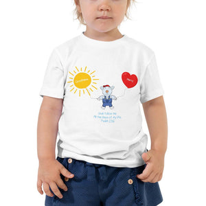 Toddler T-Shirt - Toddler T-Shirt - Joseph Godness & Mercy - Psalm 23:6