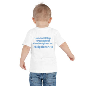 Toddler T-Shirt - Toddler T-Shirt - Joseph Golfer - Philippians 4:13