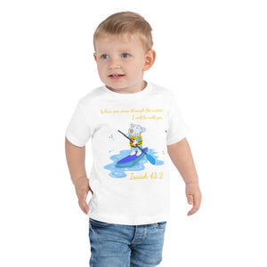 Toddler T-Shirt - Toddler T-Shirt - Joseph Paddleboard - Isaiah 43:2
