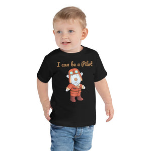Toddler T-Shirt - Toddler T-Shirt - Joseph Pilot - Philippians 4:13