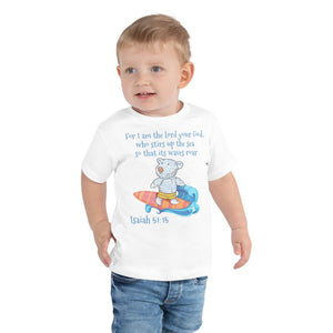 Toddler T-Shirt - Toddler T-Shirt - Joseph Surfer - Isaiah 51:15