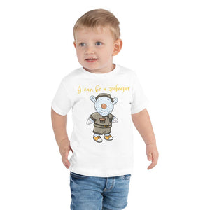 Toddler T-Shirt - Toddler T-Shirt - Joseph Zookeeper - Philippians 4:13