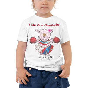 Toddler T-Shirt - Toddler T-Shirt - Joy Cheerleader 2T-5T
