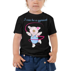 Toddler T-Shirt - Toddler T-Shirt - Joy Gymnast - Philippians 4:13