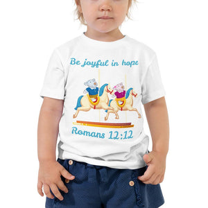 Toddler T-Shirt - Toddler T-Shirt - Joy & Joseph Carousel - Romans 12:12