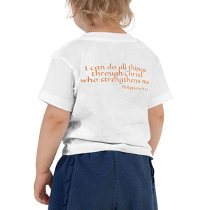 Toddler T-Shirt - Toddler T-Shirt - Joy Teacher - Philippians 4:13
