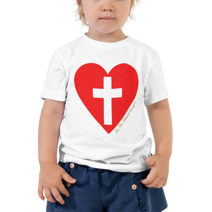 Toddler T-Shirt - Toddler T- Shirt - Perfect Love