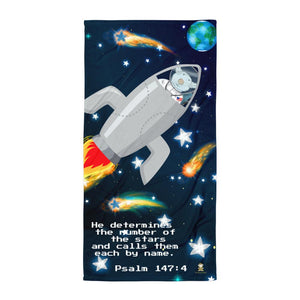 Towel - Joseph's SpaceShip - The Stars - Psalm 147:4