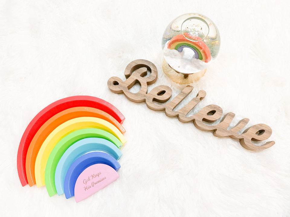 Toys - Rainbow - Wooden Toy