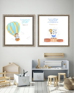 Wall Art - Wall Art Joseph Balloon - James 1:17