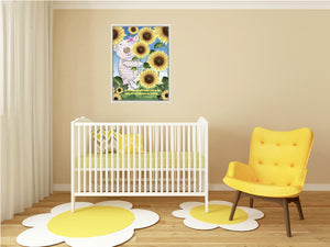 Wall Art - Wall Art Joy - Sunflower- 1 Corinthians 16:13