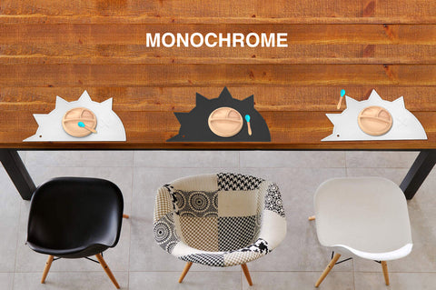 monochrome baby products scandi