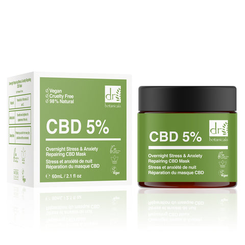 Overnight Repairing Stress & Anxiety CBD Mask 60ml