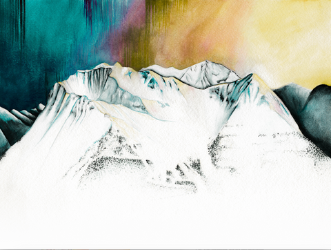 'Alyeska' - Watercolor