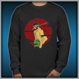a187dcdc9 The Swordsman Of The Straw Hat Crew Men's Long Sleeve Shirts