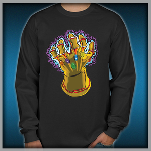 Infinity Gauntlet Men s Long Sleeve Shirts b3aeb7718