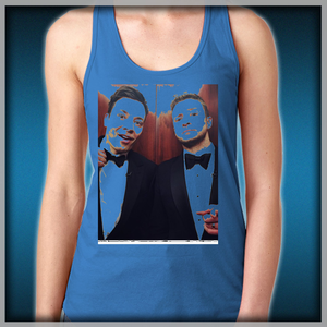 194582c53b752 Jimmy Fallon and Justin Timberlake Women s Tank Tops