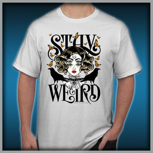 eb1433cd2 Rose and The Ravens {Stay Weird} Colour Version Men's T-Shirts