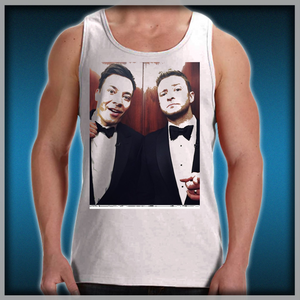 43a1be643c12a Jimmy Fallon and Justin Timberlake Men s Tank Tops