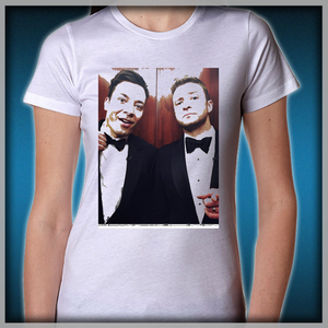 d0b3cddcc13c3 Jimmy Fallon and Justin Timberlake Women s T-Shirts