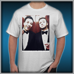 379ddd917f0ae Jimmy Fallon and Justin Timberlake Men s T-Shirts