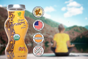 Healthee Organic Turmeric Original - Health Drink With Benefits of Turmeric