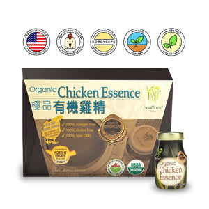 HEALTHEE Chicken Essence With Cordyceps - 6 bottles x 70 ml (2.4 oz.)