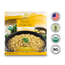 Load image into Gallery viewer, Healthee Organic Chicken Brown Rice - Precooked With Nutrients and Organic Grains