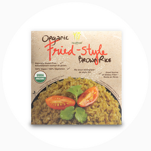 Healthee Fried Style Brown Rice - Precooked With Nutrients and Organic Grains