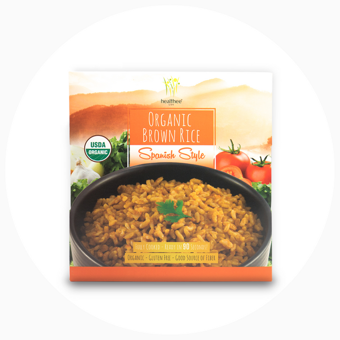 HEALTHEE Organic Spanish Style Brown Rice
