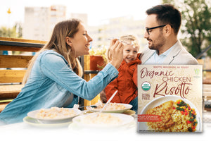 HEALTHEE Organic Chicken Risotto 7.6 oz ( 216gr )